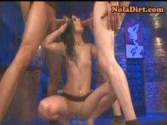 German GGG Bukkake Porn Circle Jerk Orgy