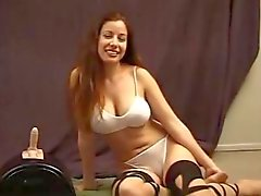 Her Turn On The Sybian