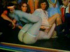 Vanessa del Rio John Leslie Gloria Leonard in classic porn clip