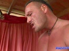 Hardcore deep throat mouth fuck