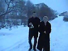 Liten pojke knullas ryska berusad mogna kvinnor som