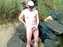 s0l0 cumshot on the beach