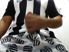 Football uniform activity solo penis