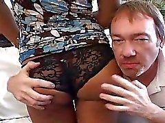 Ebony Wife Banged Deep by White Cock