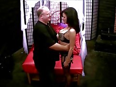Veronica Avluv spanked and groped by Michael Kahn