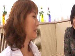 Hardcore Asian Threesome
