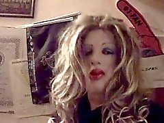 Milena masked crossdresser
