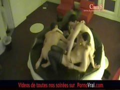 French Swingers party in a private club ! Part 5