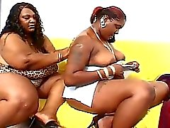 Big fat black horny lesbian mommas