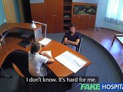 FakeHospital infirmière guérit la dépression crampons en laissant putain