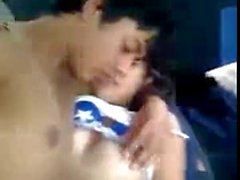 super hot desi indian gf played in car