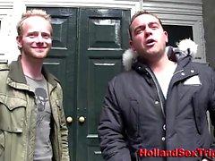 Dutch hoe and real amateur client