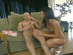 Persia DeCarlo (Italian-Persian) & Brett Rockman (Caucasian)