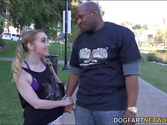 Alexia Gold gets stretched out by a black dude