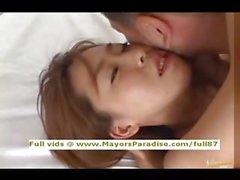 Japanese AV girl gets fucked in the hotel