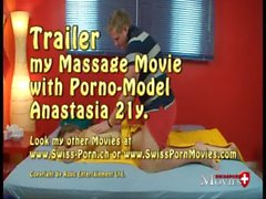 Blond girl Anastasia wants to be fucked by masseur