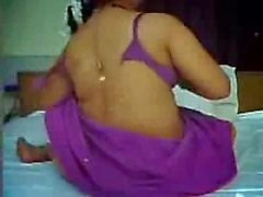Hot Busty Indian Aunty enjoyed with her Partner