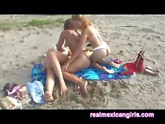 Mexican Beach Tickling