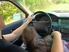 18yo russian girl penetrated on the car