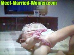 Mature asian amateur webcam babe with dildo