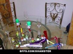 BFFS - Teen Sluts Fucked At New Years Party
