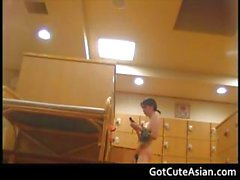 Spycam in dressing room part3