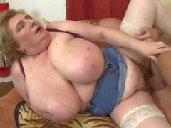 Mature mothers seduce young boys