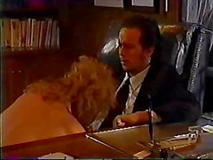 Rebecca Bardoux Tom Byron office sex blonde vintage classic