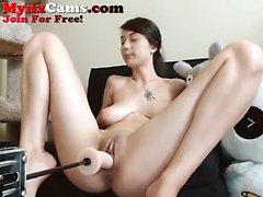 Çarpıcı Webcam Sürtük