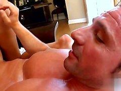 Sweet housewife blowjob