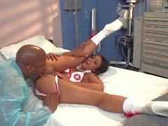 sexy d'infirmière de Obtention claqua