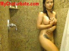 Asian cutie hot solo show
