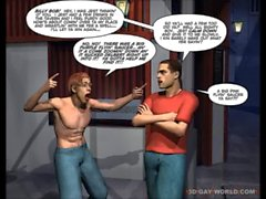 DRAG QUEENS FROM OUTER SPACE Scifi 3D Gay Cartoon Anime Comics