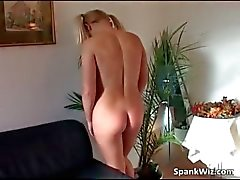 Hot looking slutty blonde gets her