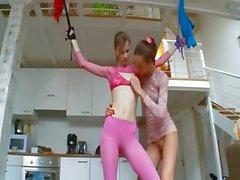 18yo italian chicks playing with toys