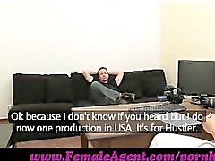 FemaleAgent. Spectacular cock control from stud