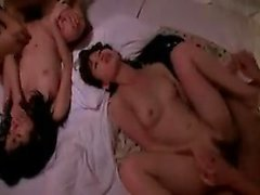 Wild Japanese babes enjoy an explosion of hard sex with hor