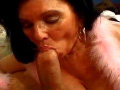 BBW Granny Loves the Cock