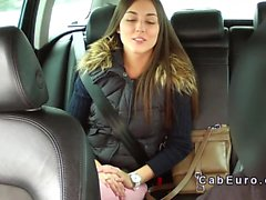 Taxi driver fucks teen pov