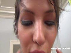 042 - Jasmine une vraie bombe sexuelle baise & a grave_ la chaine [MSTX French]