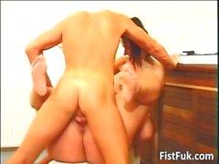 Slut paffute e brunetta a caldo schifo su grasso part6