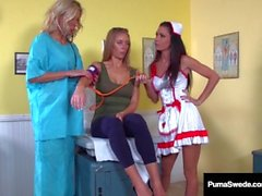 Suédois Fox Puma Swede & Nicole Aniston Obtenez des examens Wet Pussy!