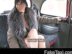 Escort trades anal for free ride