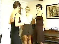 Two Girls spanked hard