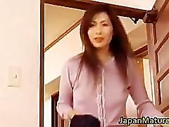Giapponese per donna matura ha sveglio part3