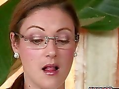 Hot stepmom busts young couple fucking