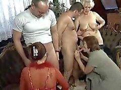 Mature MILF Orgy