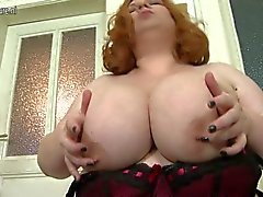 Big breasted mature bbw playing 1fuckdatecom