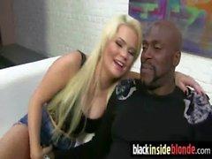 Black dudes fucking blondes 1