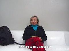 Czech Stepmom Casting - Mature Alena